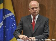 Hague: posição britânica não vai se alterar