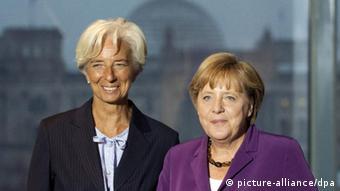 Christine Lagarde IWF Internationaler Währungfonds Merkel