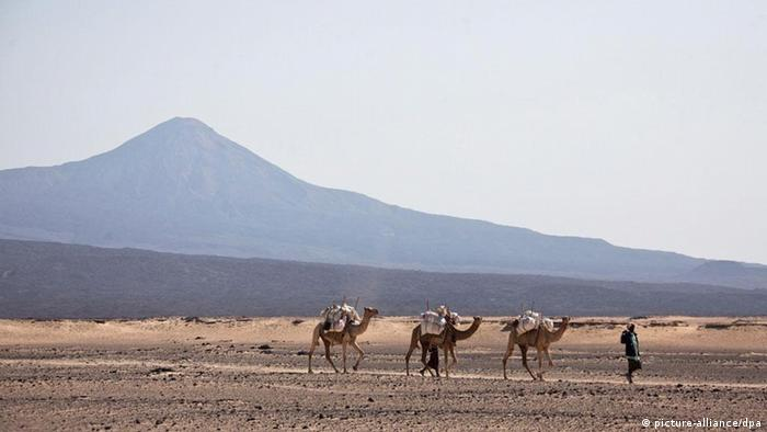 Äthiopien Vulkan Erta Ale Afar Region (picture-alliance/dpa)