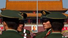 China Parteitag Kommunistische Partei Politik Zentralkommitee Tiananmen Platz