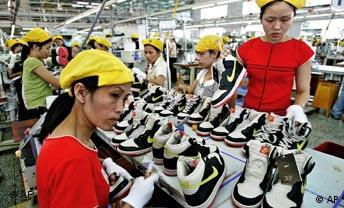 Nike-Produktion in Vietnam