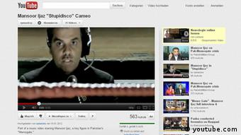 Screenshot Youtube Mansoor Ijaz Stupidisco Cameo