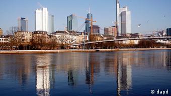 Frankfurt am Main, Germany's economic hub