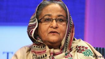 Bangladeshi Prime Minister Sheikh Hasina (Photo: Jennifer Graylock, File/AP/dapd)