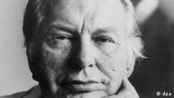 Facial Portrait of Scientology founder Ron Hubbard