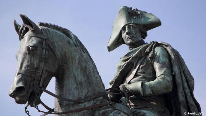 A statue of Frederick the Great