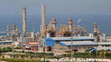 South Pars Gasfelder, Iran