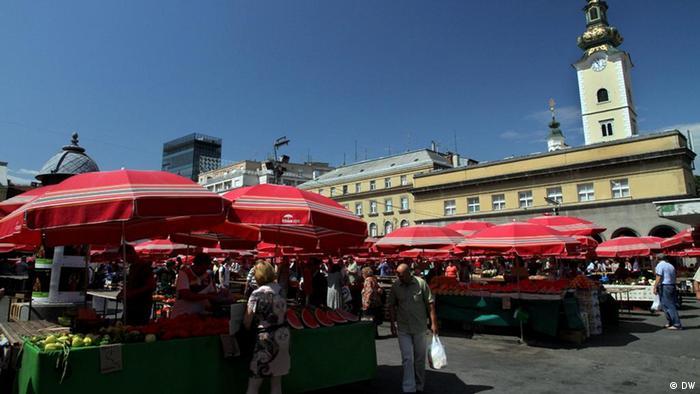 Tržnica u Zagrebu