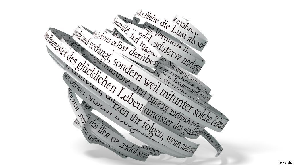 Aber Bitte In Ganzen Sätzen Sprachbar Dw 11062014