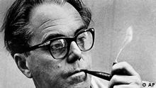 Max Frisch, Swiss-born playwright whose Andorra will be presented in the U.S. for the first time Saturday night Feb. 9th. at the Biltmore Theatre. (AP-Photo)