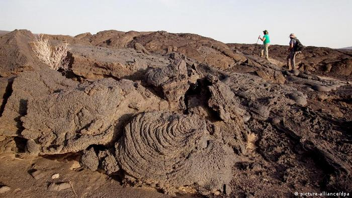 Erta Ale Vulkan: eine touristische Attraktion in Äthiopien. Foto: EPA/JOSEF FRIEDHUBER