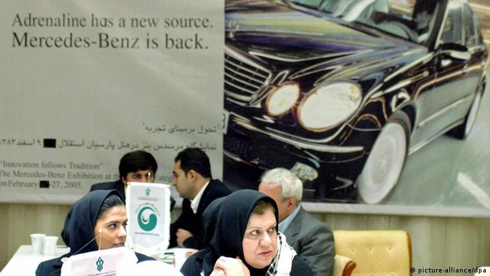 Iran Teheran DaimlerChrysler Mercedes Benz