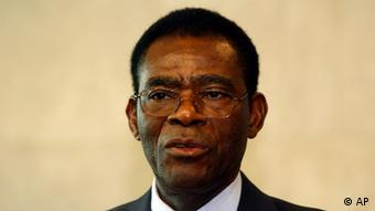 Equatorial Guinea's President Teodoro Obiang Nguema. Photo: Thierry Charlier/AP Photo/