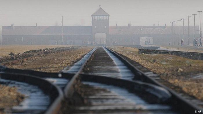 Дорога к концлагерю Освенцим-Биркенау