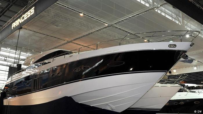 Deutschland Messe Boot 2012 in Düsseldorf (DW)