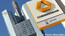 Deutschland Wirtschaft Banken Gebäude von Commerzbank in Frankfurt am Main