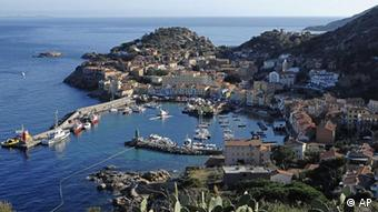 The island of Giglio
