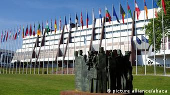 The headquarters of the Council of Europe in the district of European Institutions, in Strasbourg, France.
