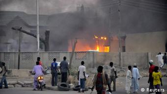 Bomb attack in Kano Photo: Reuters
