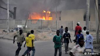 O grupo radical islâmico Boko Haram desencadeia atentados, normalmente, contra alvos cristãos na Nigéria