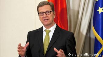 Bundesaußenminister Guido Westerwelle (Foto: dpa)