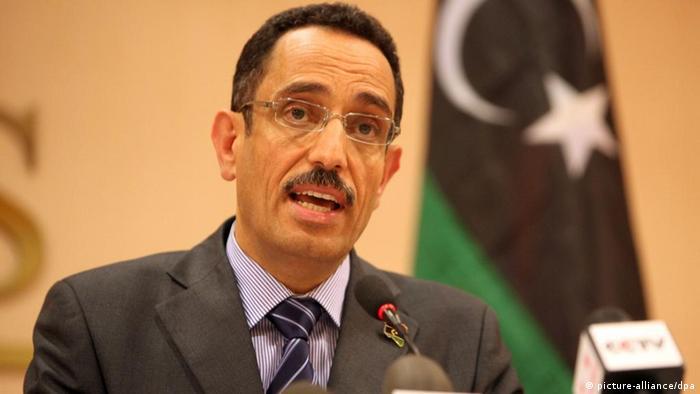 NTC Vice-chairman Abdel Hafiz Ghoga