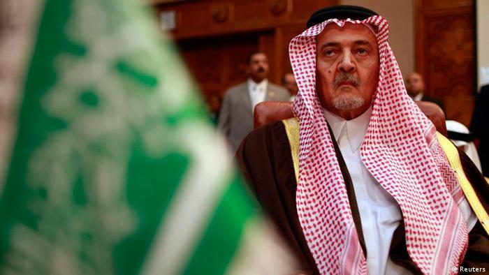 Der saudische Außenminister Saud al-Faisal (Foto: Reuters)