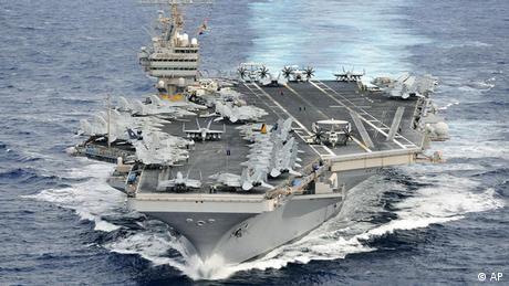 USS Abraham Lincoln aircraft carrier (AP)