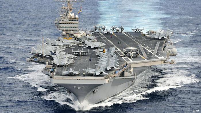 ناوهواپیمابر لینکلن به خلیجفارس اعزام شده است