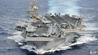 Der US-Flugzeugträger 'USS Abraham Lincoln' (Foto: AP)