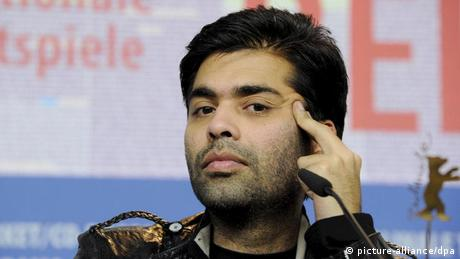 Indien Karan Johar Regisseur Bollywood (picture-alliance/dpa)