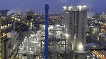 BASF Anlage zur Herstellung von Ecoflex Kunststoff