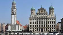 Augsburg Stadtansichten Flash-Galerie