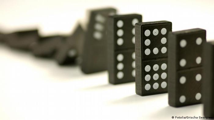 Wort der Woche Dominoeffekt