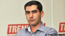 دالغا خاتیناوغلو روزنامهنگار و کارشناس روابط ایران و آذربایجان