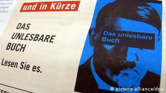 Deutschland Presse Zeitungszeugen Hitlers Mein Kampf am Zeitungskiosk