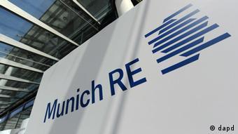 Logo of German reinsurer Munich Re