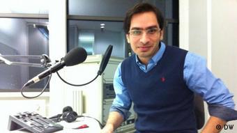 Der iranische Blogger, Amir Mamlekate Darim in DW