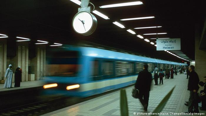 Kairo U-Bahn (picture-alliance/Herve Champollion/akg-images)