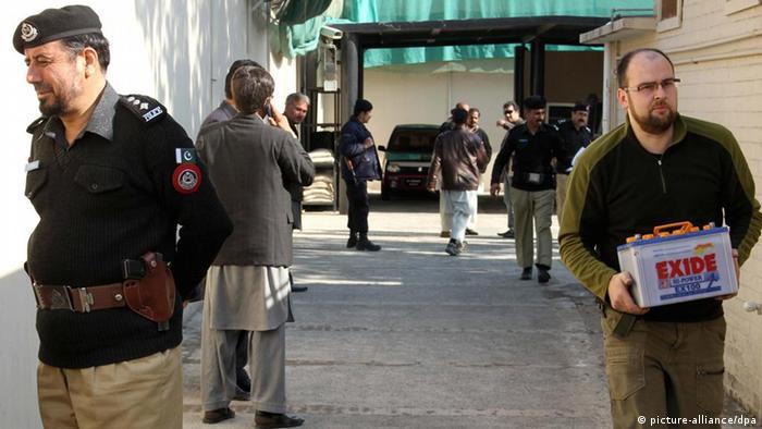 Пакистанските власти се сомневаат дека тројцата Германци работеле за германската тајна служба БНД