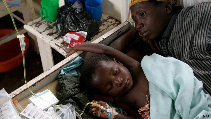 UN Millennium Ziele 6 Krankheiten bekämpfen