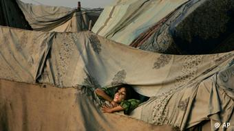 Picture of a slum in Pakistan