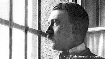 Adolf Hitler en prisión.