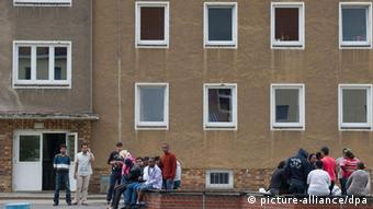 Общежитие для беженцев а Айзенхюттенштадте