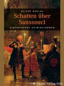 Buchcover Schatten über Sanssouci, Krimi von Oliver Buslau. Zugeliefert durch Cornelia Rabitz am 24.1.2012. Copyright: Emons Verlag Köln