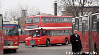 Bus Busse Skopje Mazedonien Öffentlicher Nahverkehr