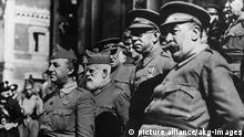 Spanischer Bürgerkrieg Franco Generäle Mola Cabanellas