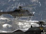 پنج هزار سرباز و نیروی امنیتی حفاظت از اجلاس داووس را به عهده دارند