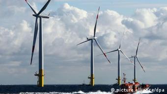 Offshore-Windpark Windkraft Erneuerbare Energien EnBW Baltic 1 Ostsee