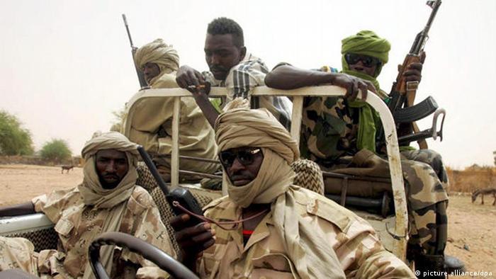 مقاتلون من جيش تحرير السودان في جنوب دارفور